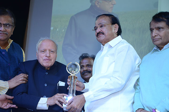 Prof. MS Swaminathan gets 1st World Agriculture Prize