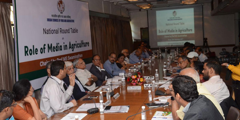 National Round Table on Role of Media in Agriculture