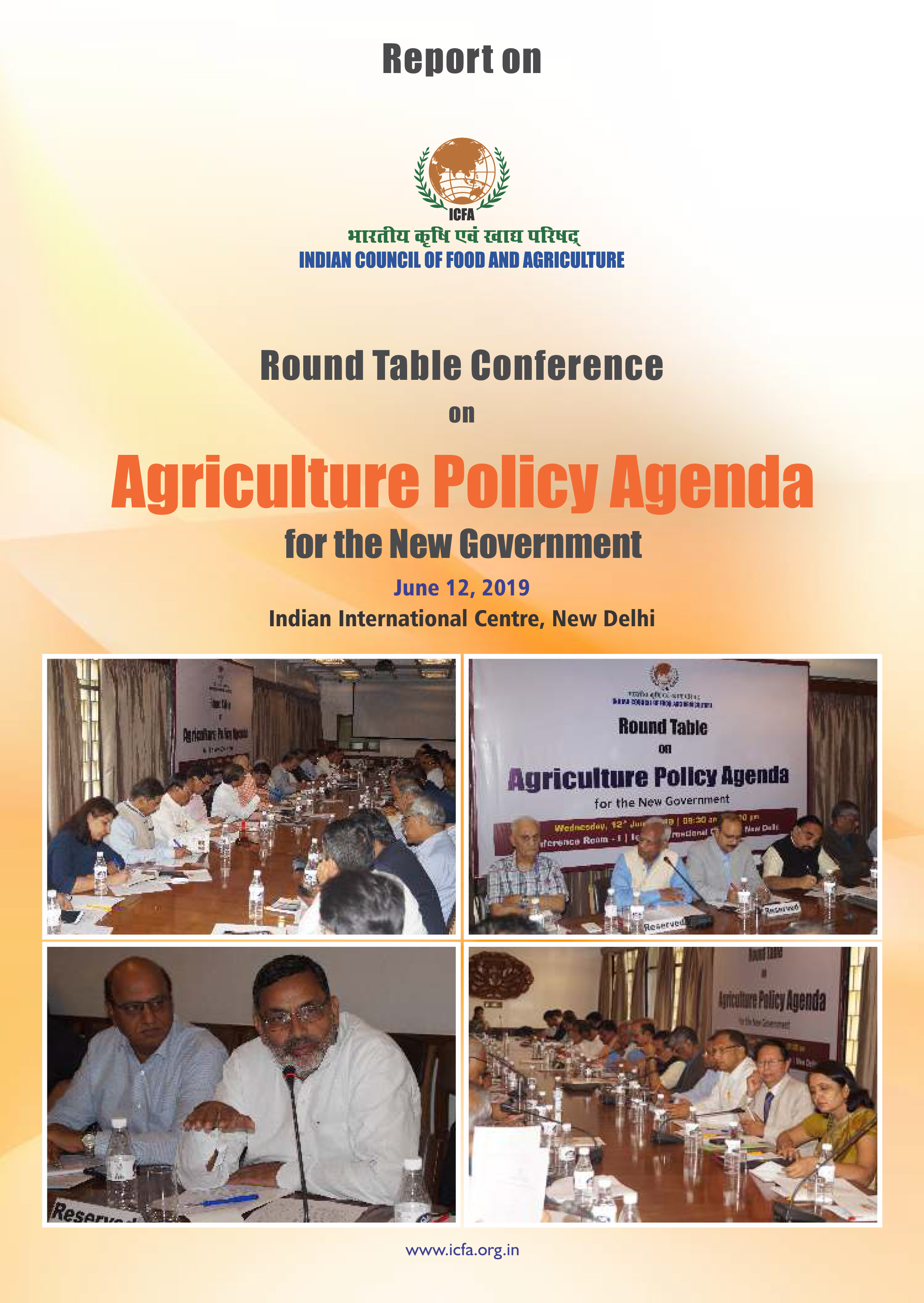 Agriculture Policy Agenda for the New Government